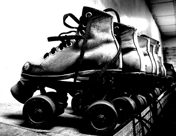 the skating accident at my nephews birthday party I hadn't been skating in years but i attended my nephews birthday party here when you walk in the overwhelming aroma of feet meets you at the door.