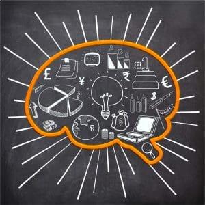 brain with ideas