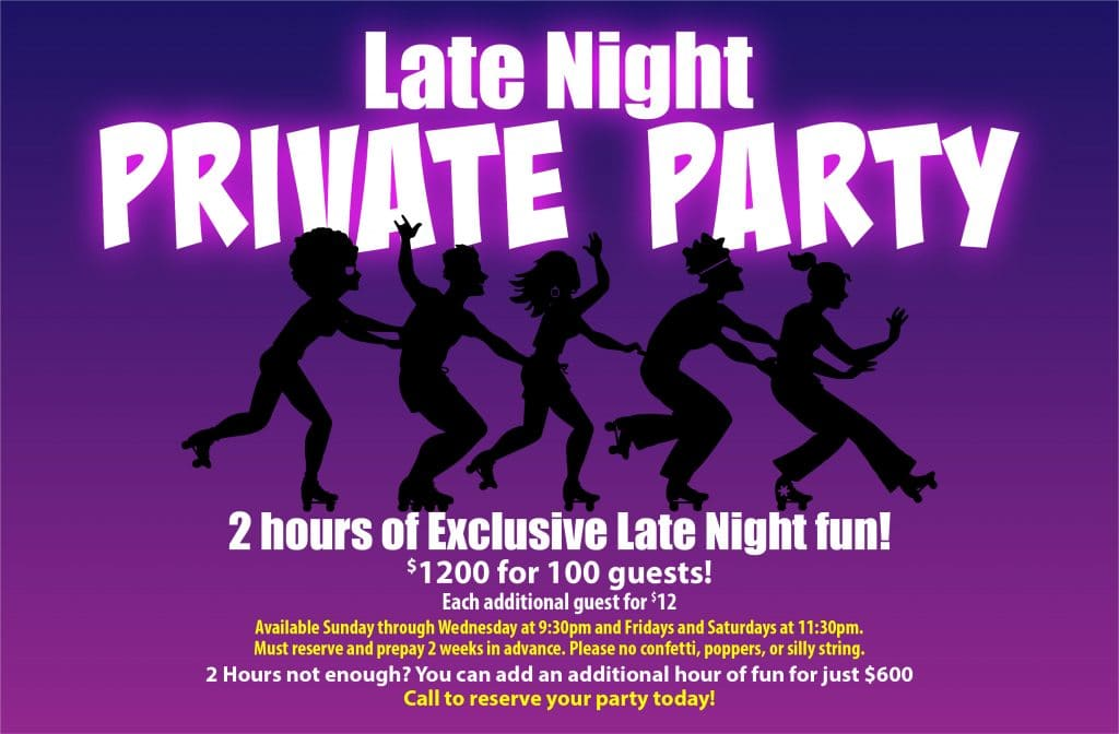 OKC birthday party - 2 hours of exclusive late night fun!
