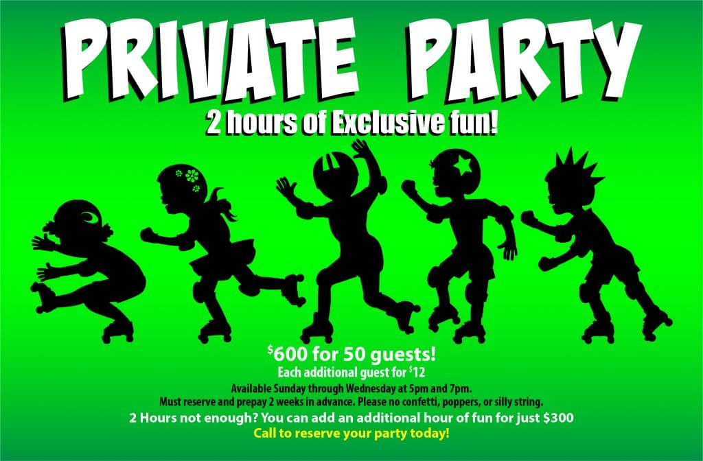 OKC Birthday Parties - 2 hours of exclusive fun